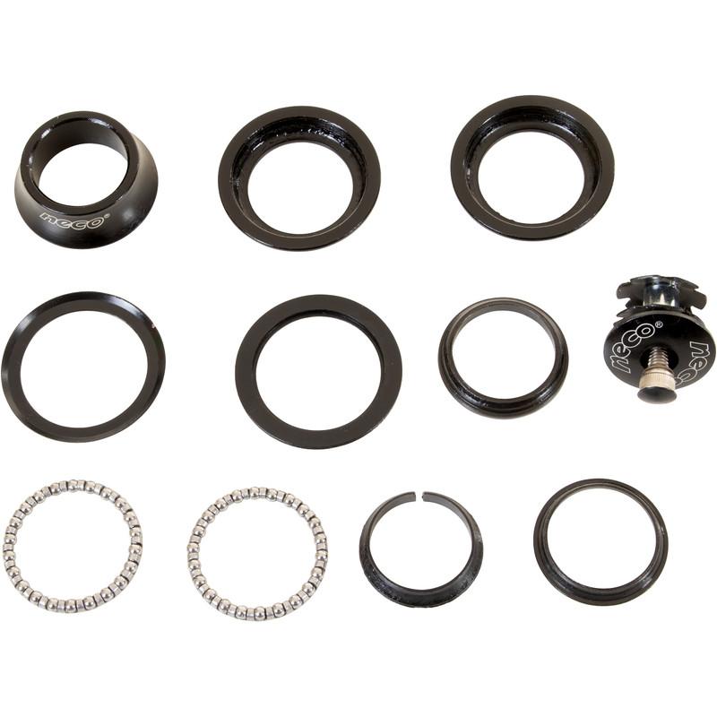 Neco H846 Steuersatz 15-teilig 1 1/8 Zoll gewindelos threadless Headset für Galano Mountainbikes