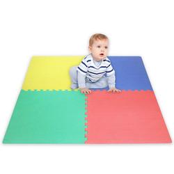 Bodenpuzzle Spielmatte Fußboden EVA Schaum Puzzle 4 Stück