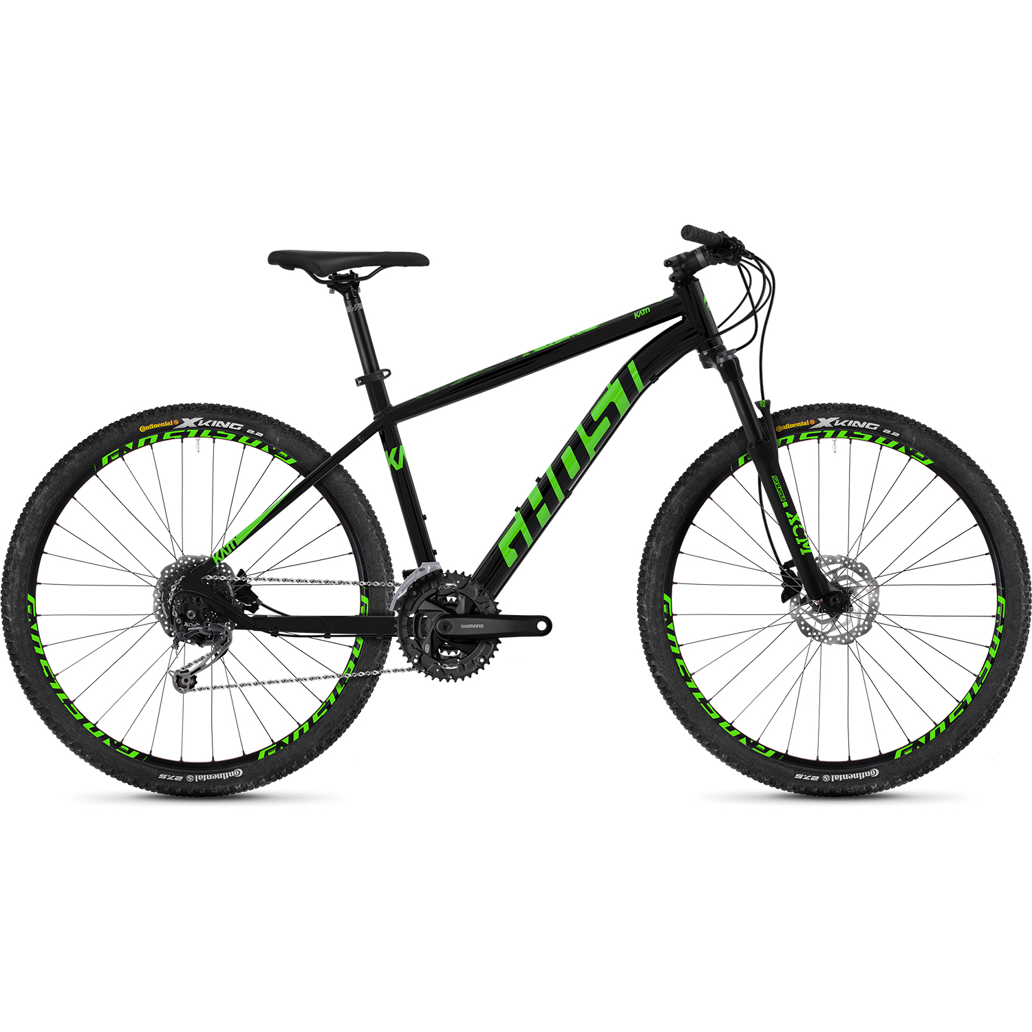 ghost kato 4 7 al u 27 5 zoll mountainbike hardtail mtb. Black Bedroom Furniture Sets. Home Design Ideas