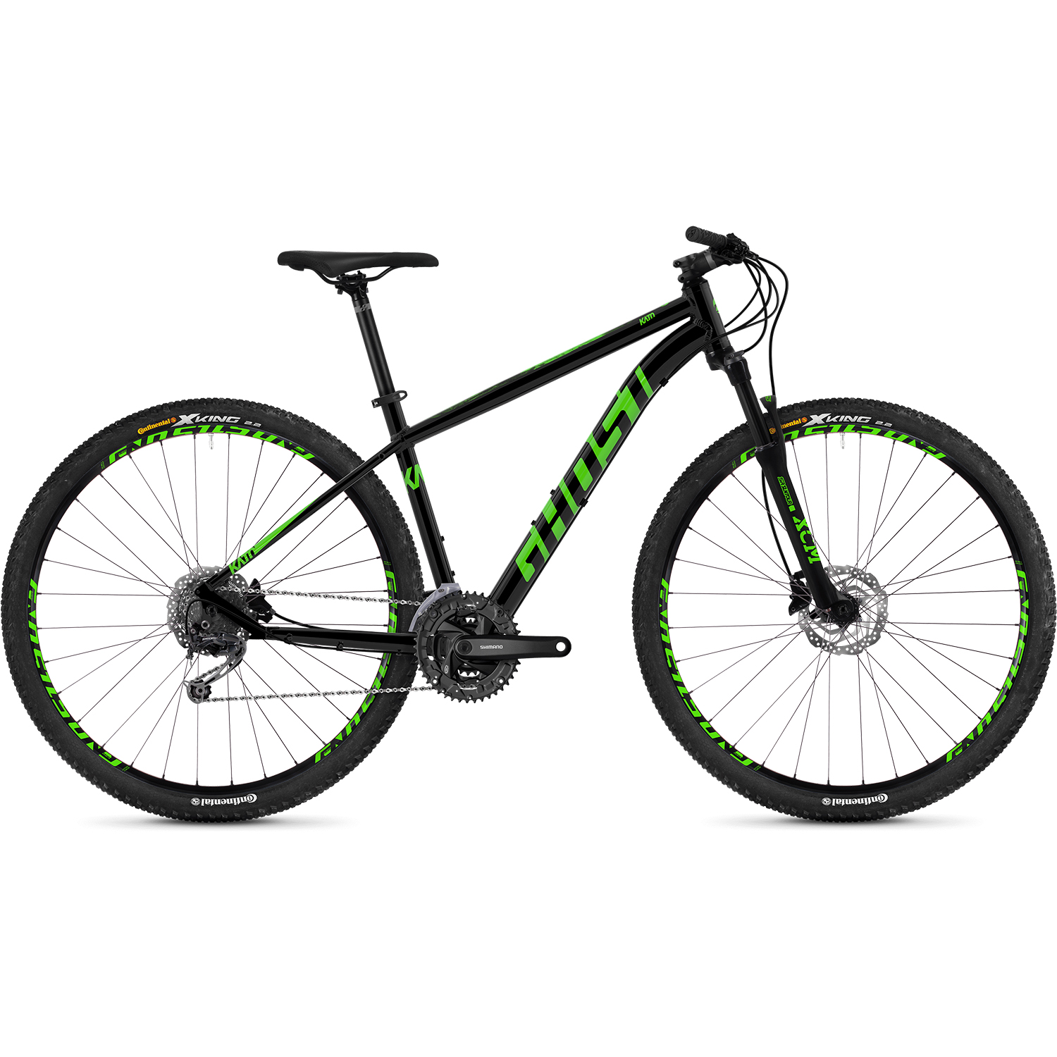 ghost kato 4 9 al u 29 zoll mountainbike hardtail mtb. Black Bedroom Furniture Sets. Home Design Ideas
