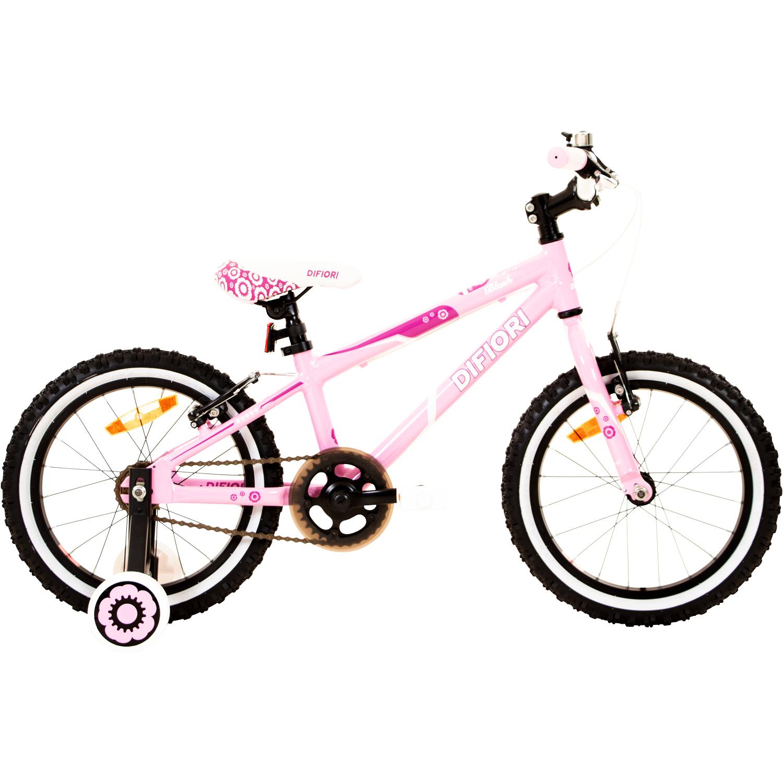 m dchenfahrrad 16 zoll kinderfahrrad st tzr der kinder fahrrad difiori blush 4j ebay. Black Bedroom Furniture Sets. Home Design Ideas