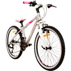Difiori Nova FS 24 Zoll 21 Gang Mädchenfahrrad Girls Fahrrad Hardtail Jugendrad ab ca. 8 Jahre