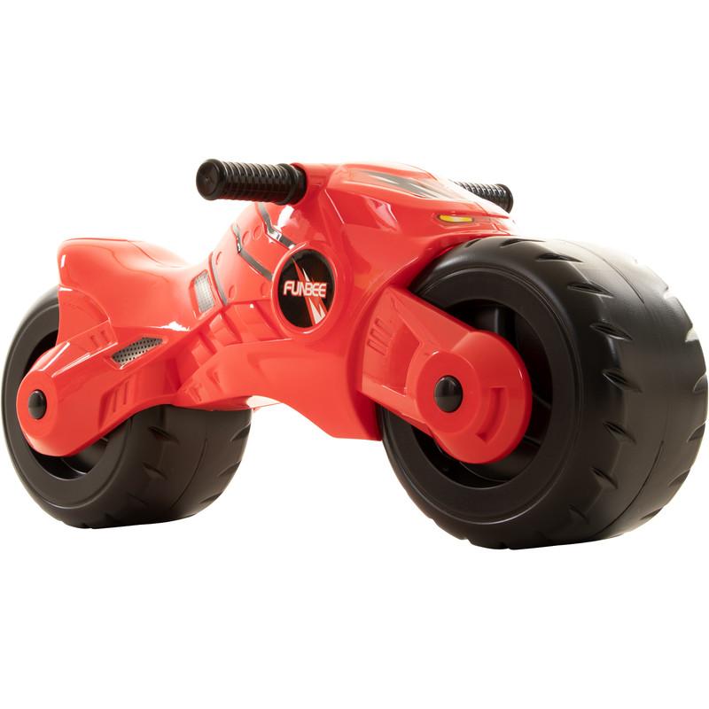 Funbee Moto Ride On Kinderfahrzeug Kinder Roller Rutscher ab 3 Jahre