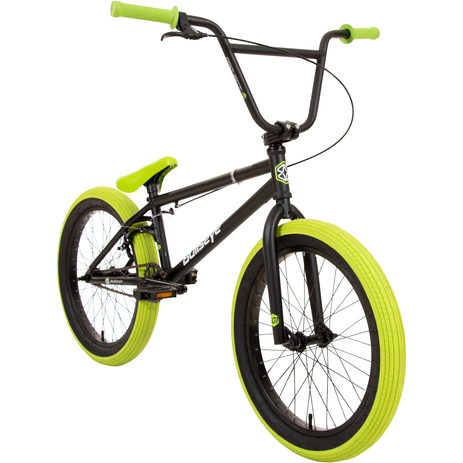 bullseye project 501 bmx 20 zoll park freestyle bike. Black Bedroom Furniture Sets. Home Design Ideas