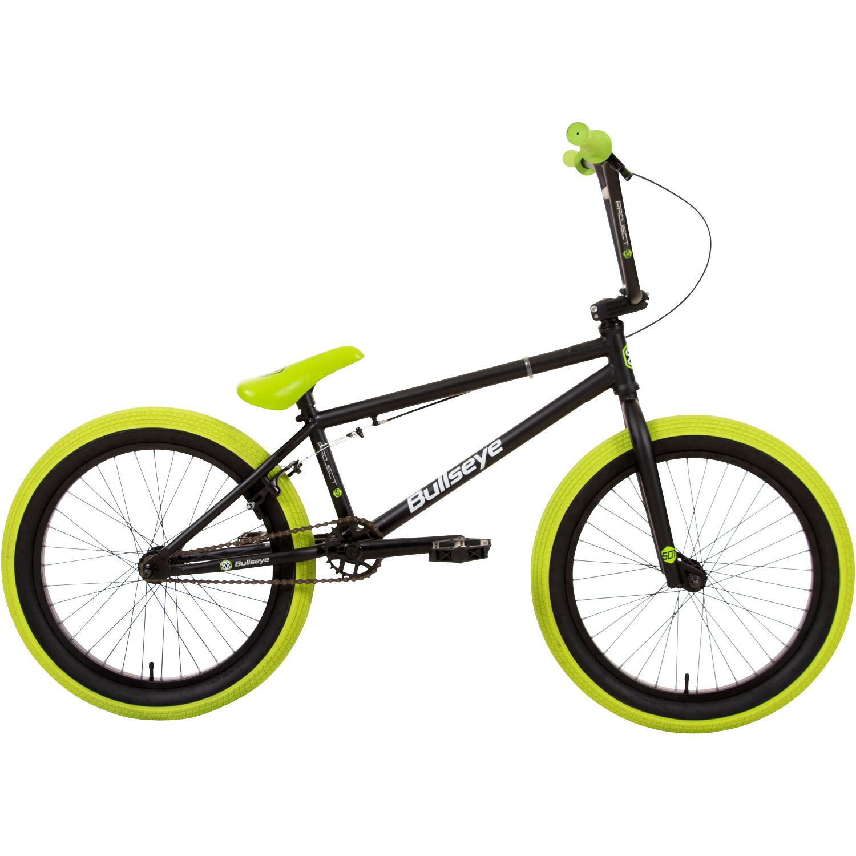 bmx 20 zoll bike 3 farben freestyle rad bullseye fahrrad. Black Bedroom Furniture Sets. Home Design Ideas