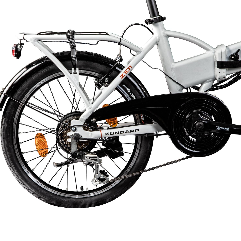 e klapprad 20 inch with case pedelec electric bike z ndapp z101 e bike ebay. Black Bedroom Furniture Sets. Home Design Ideas