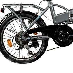 Zündapp Z101 20 Zoll E-Klapprad mit Tasche E-Bike Faltrad Pedelec Elektrofaltrad Bild 2