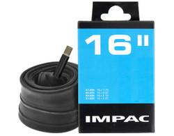 Impac Fahrradschlauch mit Autoventil AV 1,75 - 2,25 Zoll Breite universal Schrader Bild 3