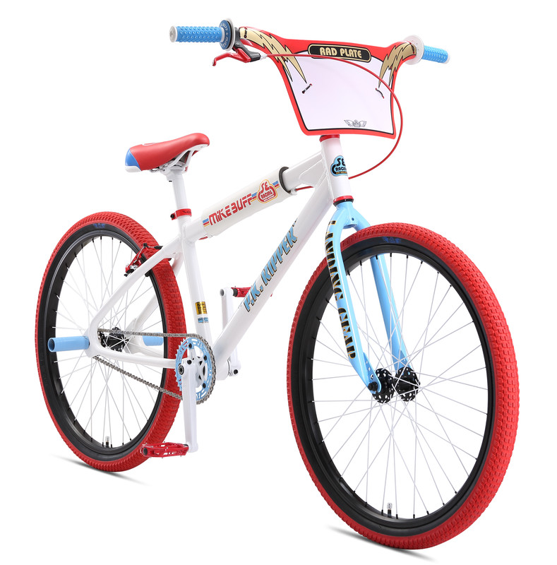 Fahrrad SE Bikes MIKE BUFF PK RIPPER LOOPTAIL BMX 26 Zoll 2019 White Bike