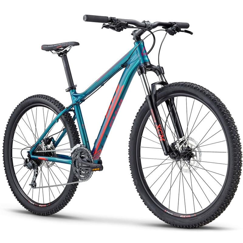 Fuji Addy 1.5 650B Mountainbike Hardtail MTB 2019 Fahrrad Bike Green Lagoon Damen