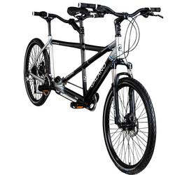 Galano Nashville 26 Zoll Tandem Fahrrad Mountainbike Bike 24 Gänge Shimano MTB Hardtail