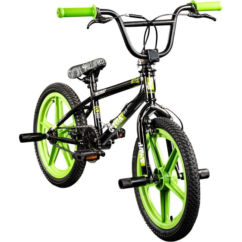 deTox Rude Skyway 18 Zoll BMX Bike Fahrrad Freestyle Street Tricks Park Stunts