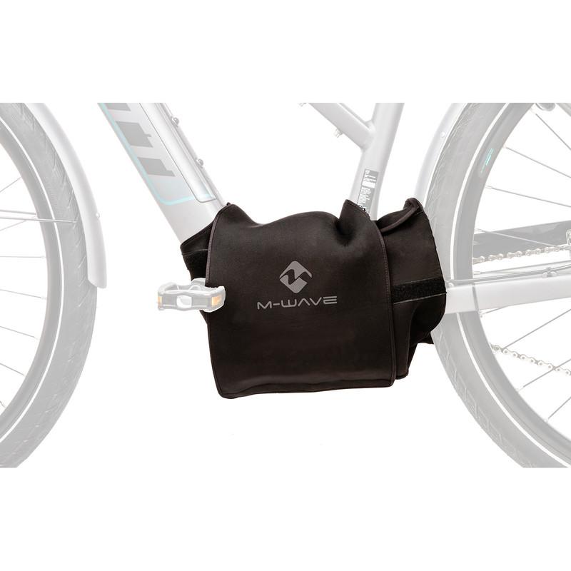 M-Wave E-Protect Center Schutzhülle für E-Bike Motor Neopren universal Bosch Shimano