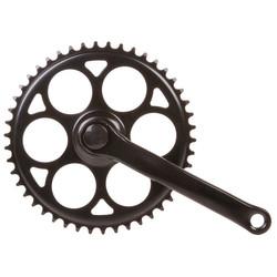 Pentagon Sports Kettenradgarnitur 1-Gang 170 mm Stahl JIS Kurbelgarnitur Fahrrad