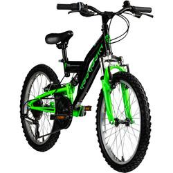 Galano Assassin 20 Zoll Mountainbike Full Suspension Kinderfahrrad Fully MTB Kinder ab 6 Jahre Fahrrad