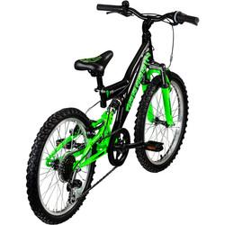 Galano Assassin 20 Zoll Mountainbike Full Suspension Kinderfahrrad Fully MTB Kinder ab 6 Jahre Fahrrad Bild 9
