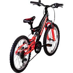Galano Assassin 20 Zoll Mountainbike Full Suspension Kinderfahrrad Fully MTB Kinder ab 6 Jahre Fahrrad Bild 10