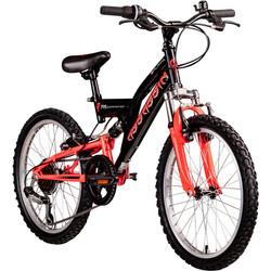 Galano Assassin 20 Zoll Mountainbike Full Suspension Kinderfahrrad Fully MTB Kinder ab 6 Jahre Fahrrad Bild 2