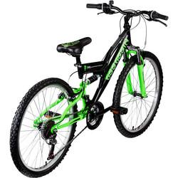 Galano Assassin 24 Zoll Mountainbike Full Suspension Jugendfahrrad Fully MTB Jugendliche Fahrrad ab 8 Jahre Bild 9